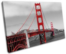 Golden Gate Bridge Landmarks - 13-1275(00B)-SG32-LO